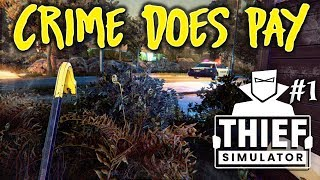 CRIME DOES PAY! - Thief Simulator with Panda