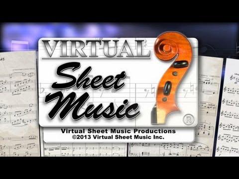 Meditation from opera Thais - Violin Sheet Music Accompaniment Video