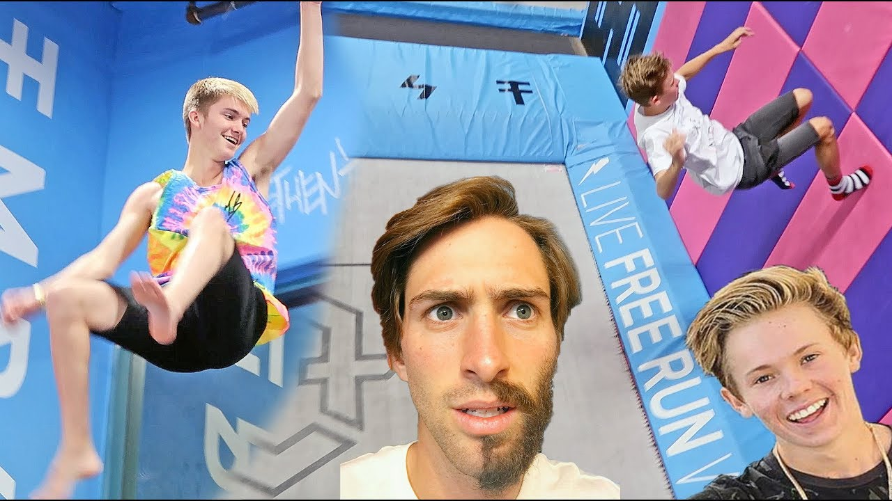 famous-youtuber-trampoline-park-session-flips-and-tricks