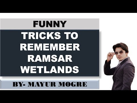 Tricks to remember Ramsar wetland (ALL IN ONE)