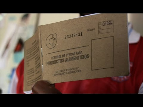 Cuba's ration book: symbol of equality and scarcity