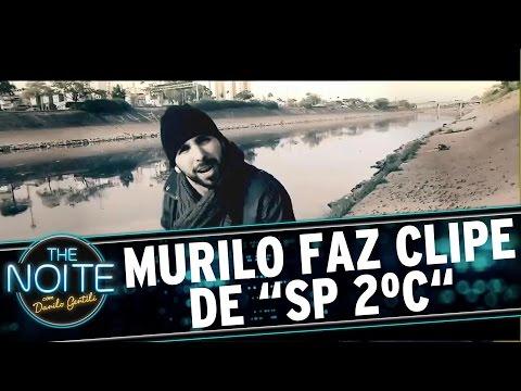 """The Noite (02/08/16) - Murilo Couto faz clipe de """"SP 2ºC"""""""