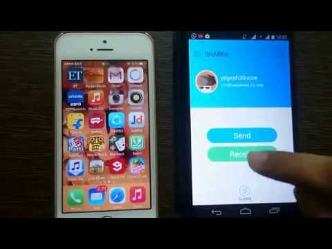 How to Share files between Iphone and Android (100 % working)