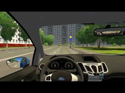City Car Driving Ford Fiesta ST-Linie 2013 HD with Logitech G27