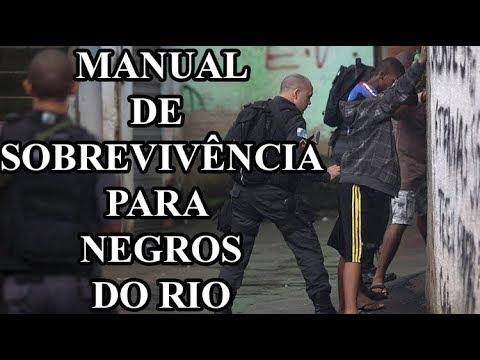 Manual para negros do Rio envergonha o Brasil