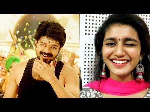 """Want to act with Vijay sir, Dhanush sir and Suriya sir"" | Priya Prakash Varrier | Oru Adaar Love"