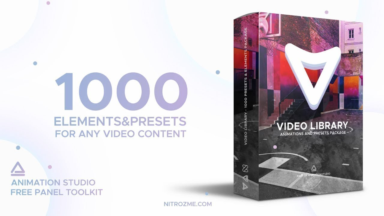 video library video presets package free