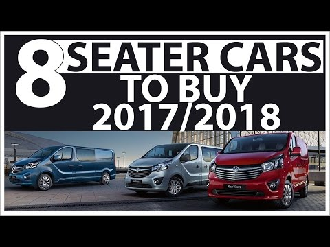 Top 5 best 8 seater cars to buy 2017, 2018 !! best passenger cars