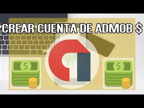 Crear cuenta de Admob - Curso Dinero con Aplicaciones
