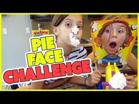 😝PIE FACE CHALLENGE!! 😝WITH A TWIST 😝AND READING SNAPCHATS | SMELLYBELLYTV