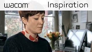 Wacom Create More | Portrait Illustrator Miss Led Interview