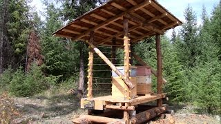 Bee Hut for Improved Honey Bee production