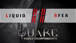 Quake - Liquid vs. SFEA [4v4] - Quake World Championships - Ro16 NA Qualifier #1
