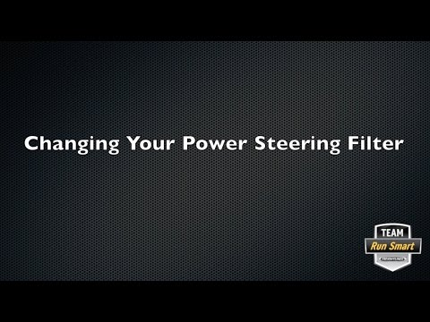 Changing Your Power Steering Filter