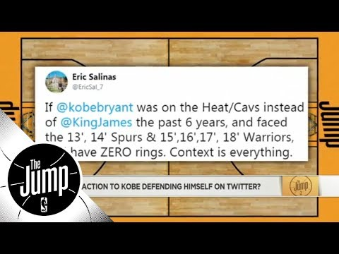 Amin Elhassan: Kobe Bryant's LeBron James comments show he is still 'competing' | The Jump | ESPN