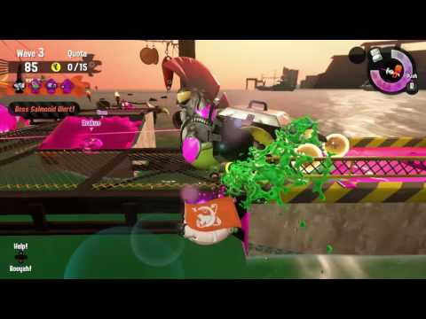 Splatoon 2 - This is the worst Salmon Run situation possible