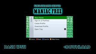ManiacFree Free Stealth Server Dash 17511 [decent KV Life] +Download RGH/JTAG