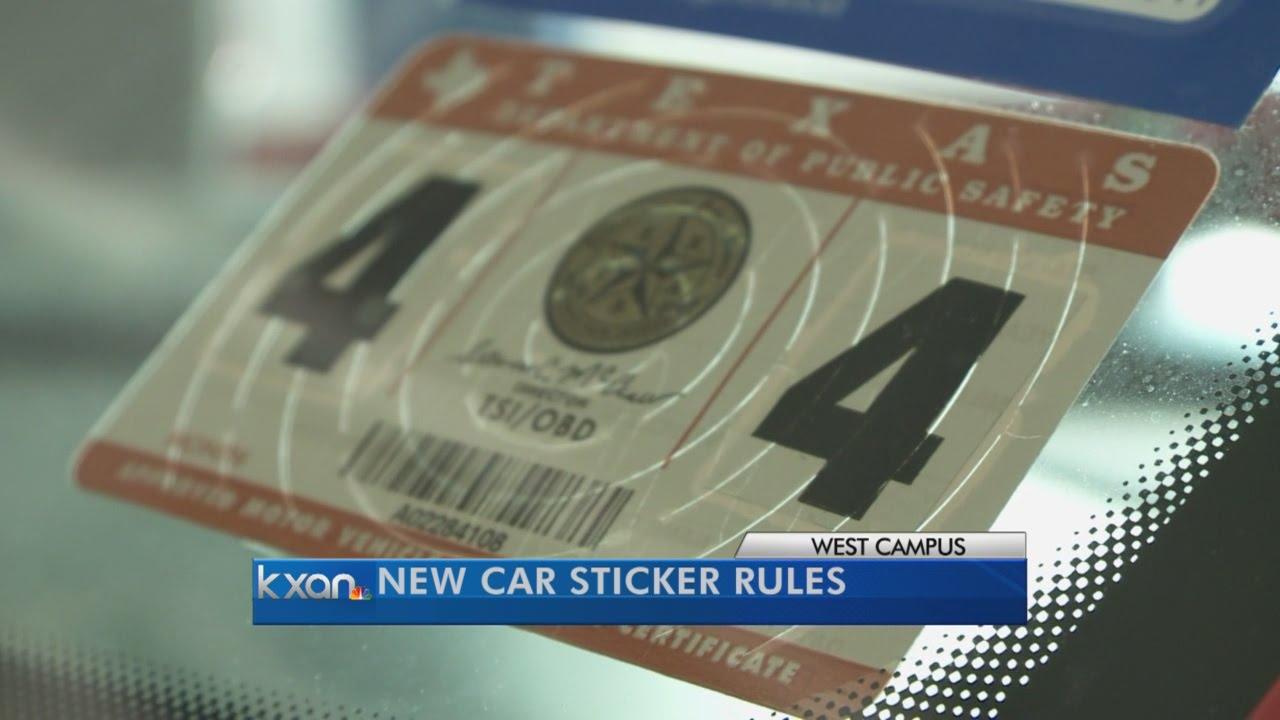 Car sticker inspection - Car Sticker Inspection 50