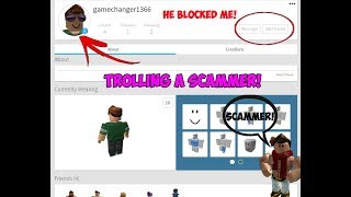 ROBLOX SCAMMER CRIED AFTER TRYING TO SCAM ME! || Roblox - Scam!