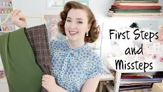 First Steps and Missteps : Venturing into Vintage