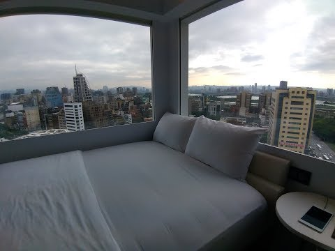 Staying at citizenM in Taipei: Room Tour | Girls & Getaways