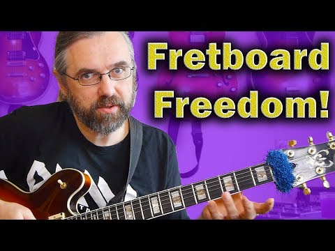 Move around the guitar neck - Fretboard Philosophy