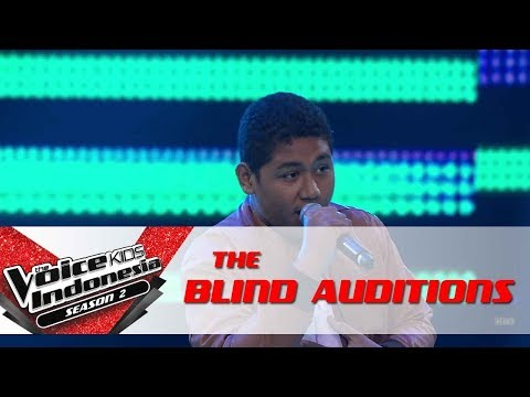 Christoper Thinking Out Loud  The Blind Auditis  The Voice Kids Indesia Seas 2 GTV 2017