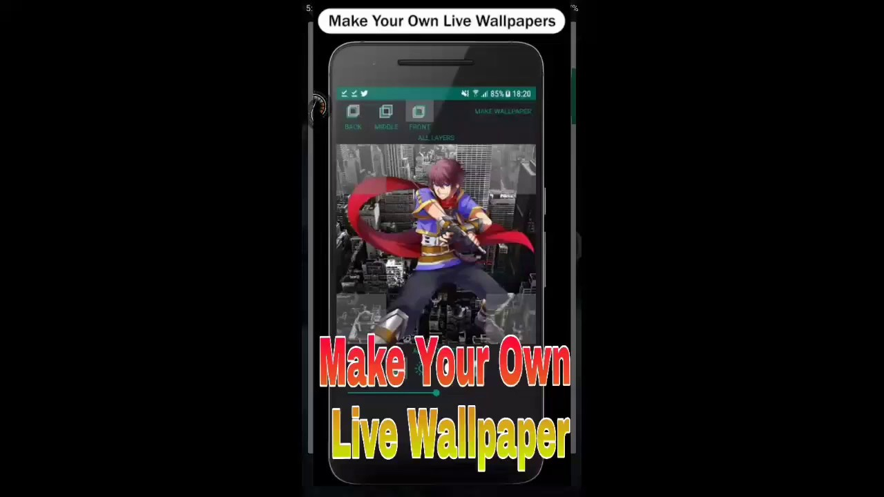 How to make your own live wallpaper,go ahead watch now - YouTube