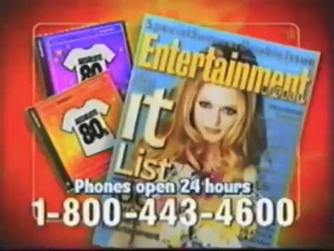 Absolute 80s CD Commercial