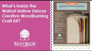 Walnut Hollow® | The Deluxe Creative Woodburning® Craft Kit