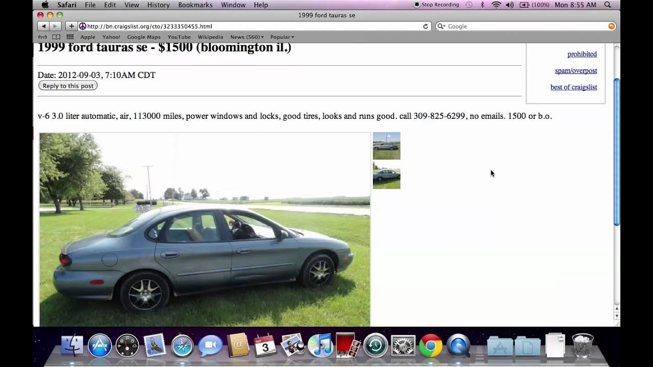 Craigslist normal illinois used cars and trucks vehicles for sale by owner locally