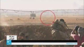 """شاهد فرار عناصر تنظيم """"الدولة الإسلامية"""" في معارك العراق"""