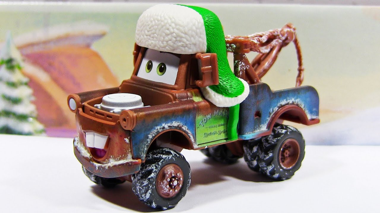 disney pixar cars whee hoo winter mater story tellers diecast toy youtube. Black Bedroom Furniture Sets. Home Design Ideas