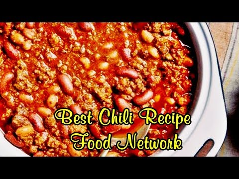 Best Chili Recipe Food Network - Easy Meals To Cook