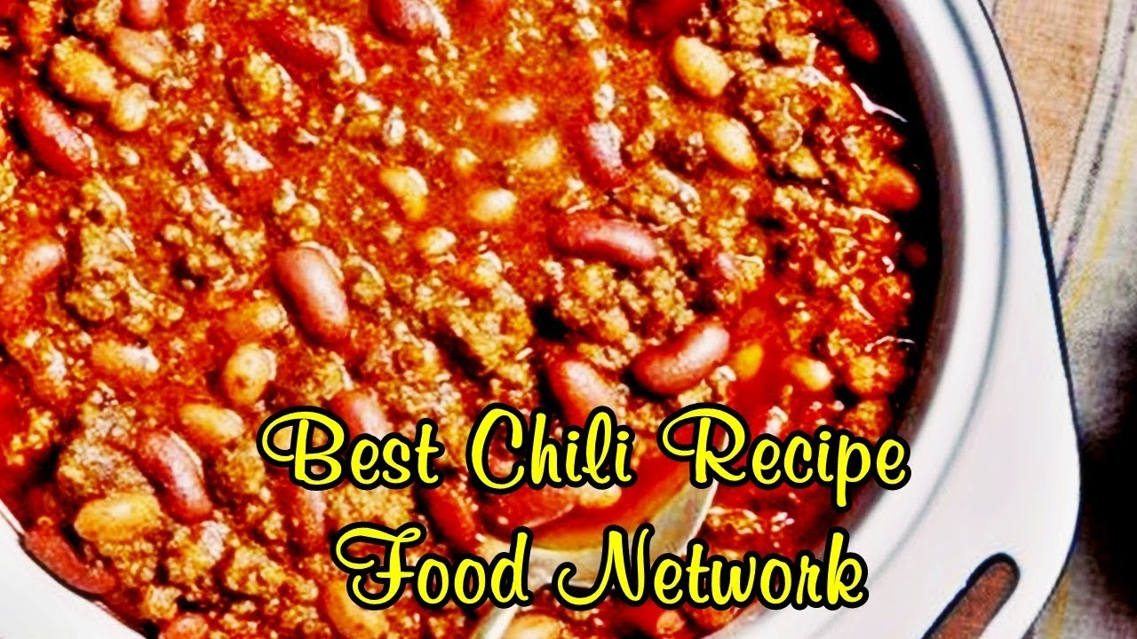 Best chili recipe food network easy meals to cook youtube best chili recipe food network easy meals to cook forumfinder Choice Image