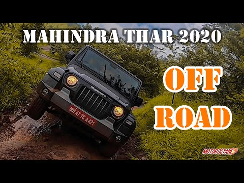 Mahindra Thar 2020 Off-Road Review - Drive, Performance, Experience