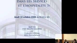 Acte esthétique et design, une idée du luxe ? Forum Design Innovation Service, ISIS, 2008 (part 1)