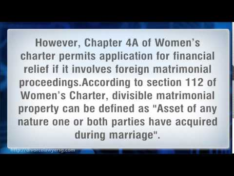 Marriage Breakdown – Division of Assets