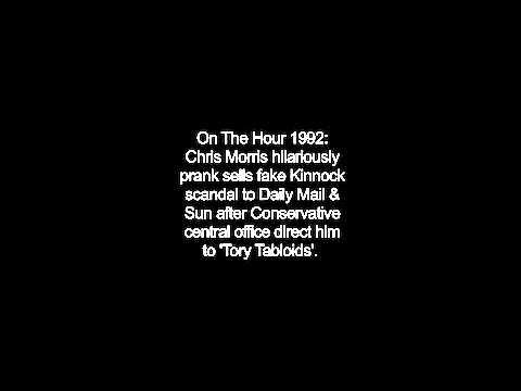 On The Hour 1992: Chris Morris vs. Daily Mail & Sun