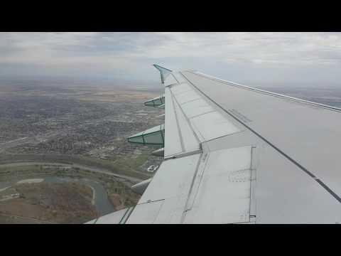 Take off and climb Air Canada flight 128 Calgary (YYC) to Toronto (YYZ) airbus A321