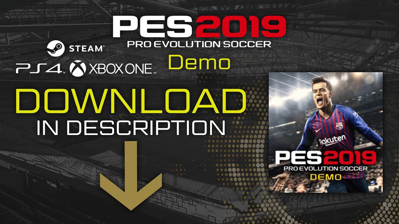 pes 2019 demo download ps4 not working