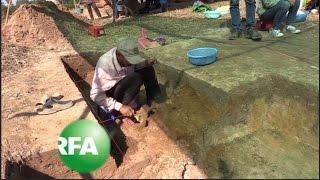 Cambodian Archeologists Uncover Angkorian Iron Foundry   Radio Free Asia (RFA)