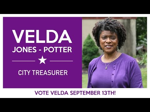 VOTE VELDA - Wilmington City Treasurer Announcement Event
