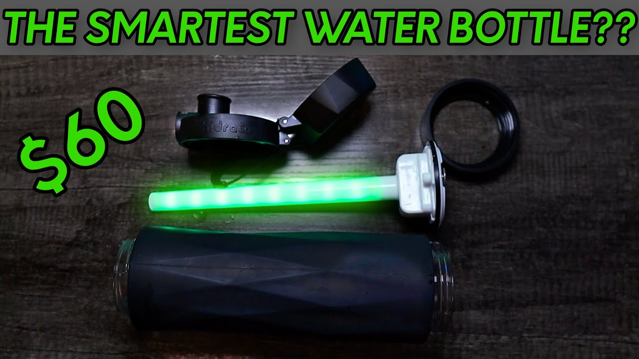 $60 Smart Water Bottle... Worth it or Junk?! Hidrate Spark 3 Review