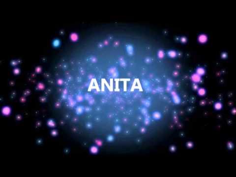 HAPPY BIRTHDAY ANITA YouTube