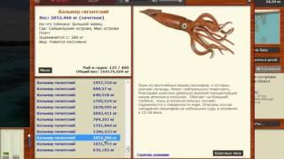 Русская рыбалка 3 99 Ловля Кальмара Гигантского