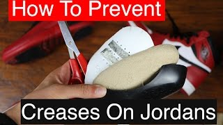 How To Prevent Creases on Shoes!