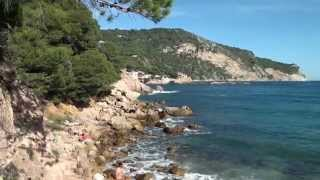 Costa Brava Strände Tamariu Aiguablava Calella Sa Riera Sa Tuna