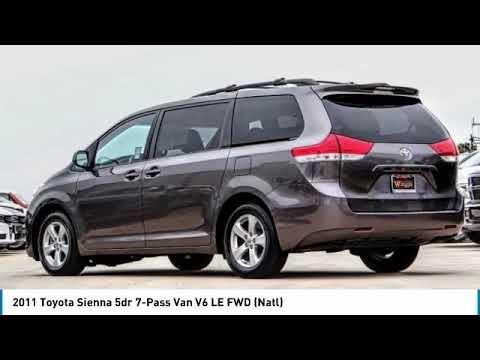 2011 Toyota Sienna VAN NUYS LOS ANGELES SAN FERNANDO VALENCIA CANOGA PARK uc085125t