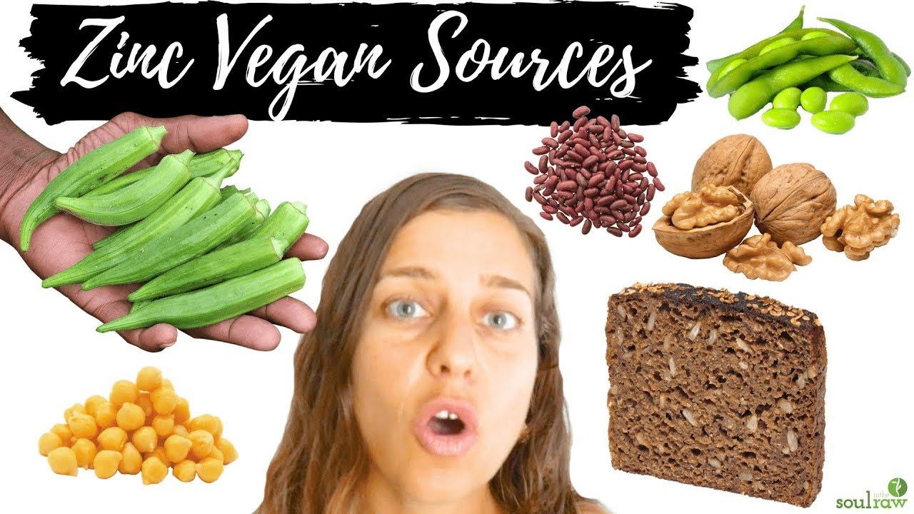 zinc in vegan diet